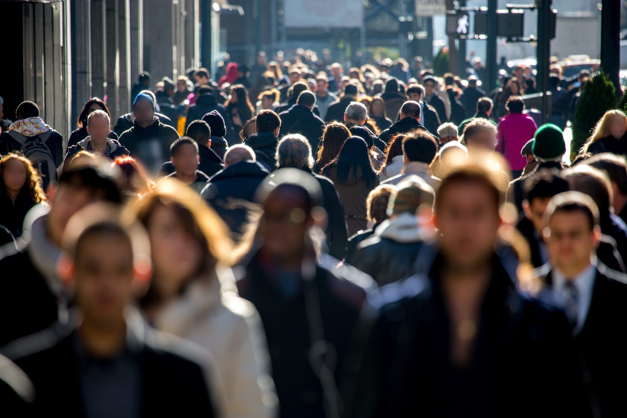 A public crowd in a city street, of which only a small number know about the PPI claims deadline.