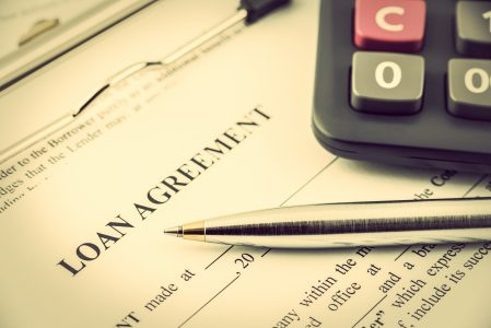 A loan agreement form